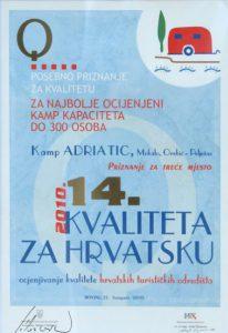 kvaliteta za hrvatsku 2010