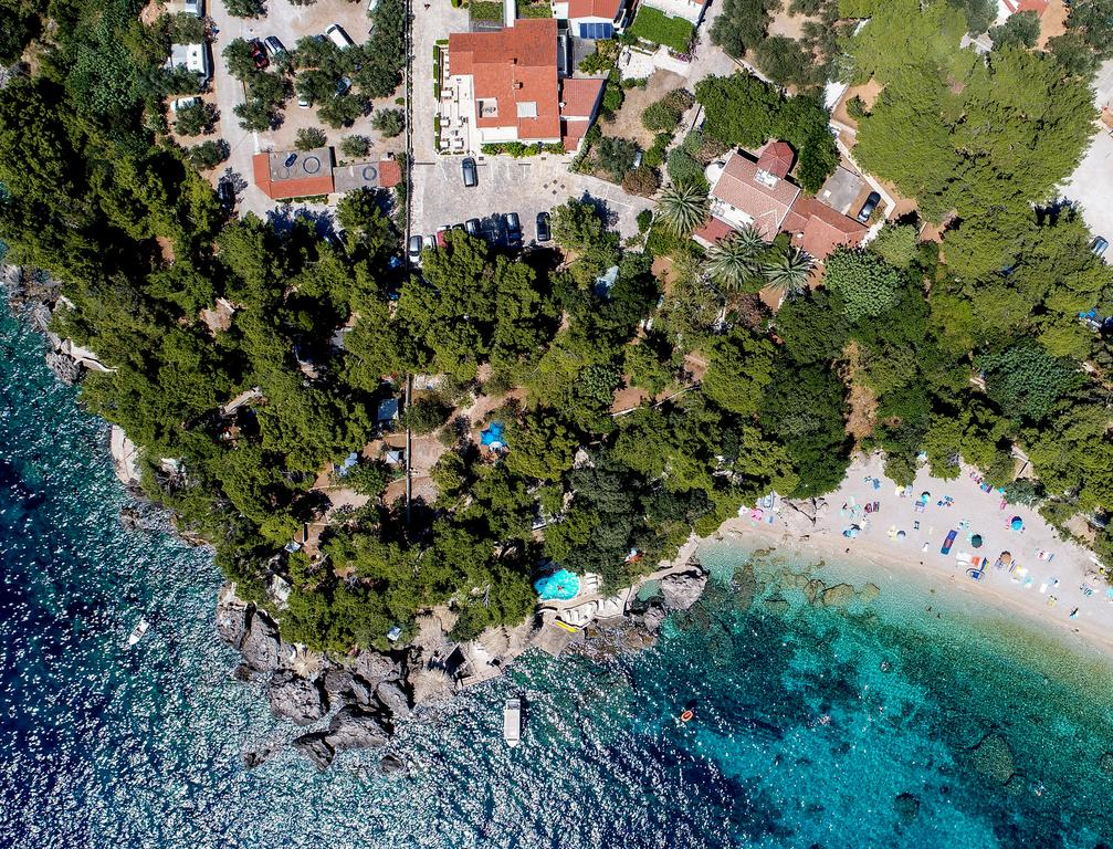 view from above holiday resort adriatic